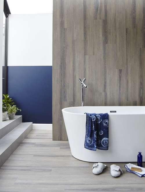 Blush_Oak_LVT from Lifestyle Floors from ú23.99 per sqm Bathroom