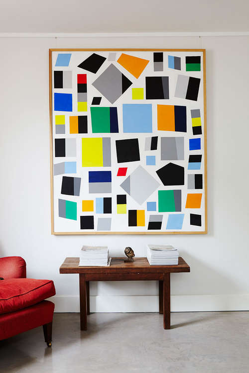 Caziel_painting_modern_interior